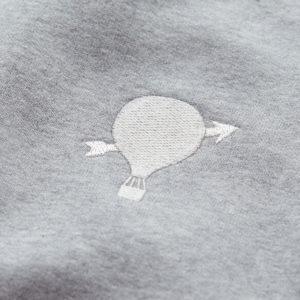 Pavo & Leon Sweater grey balloon Stickerei