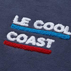 Pavo & Leon Sweater Le Cool Coast Stickerei