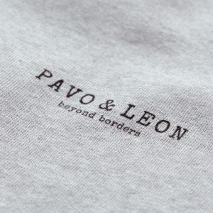 Pavo & Leon Sweater Logo Print