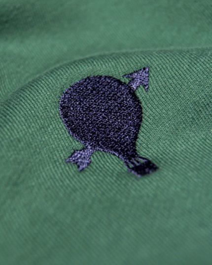 Journey Sweatshirt Grün/Blaue Logo-Stickerei
