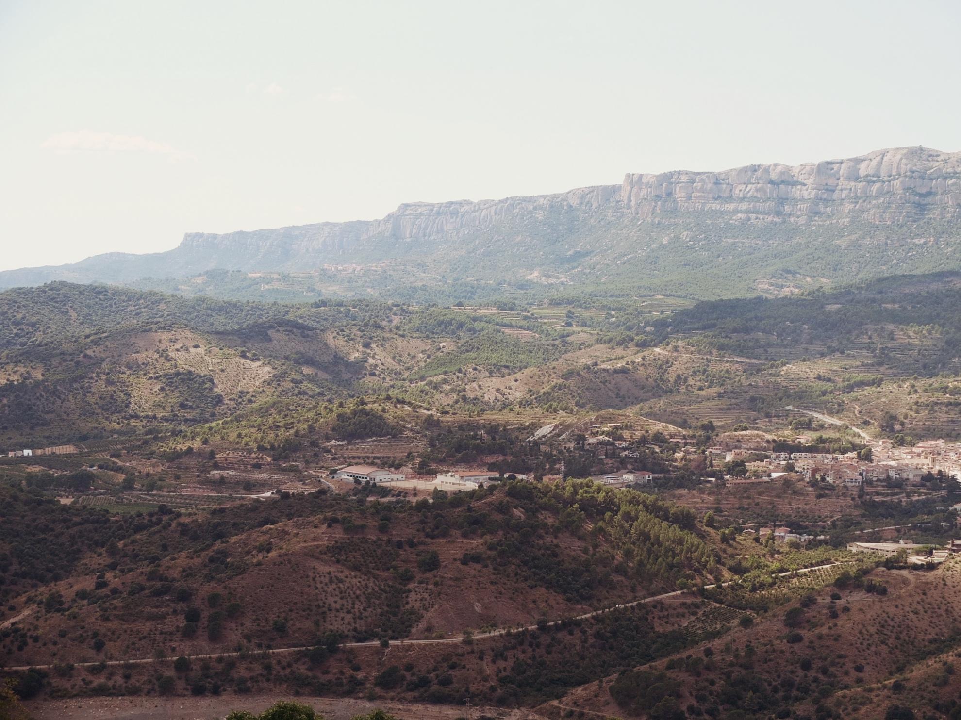 Landschaftsbild Katalonien